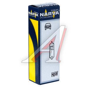 Лампа 12VхT6W (BAY9s) HALOGEN NARVA 68161, N-68161