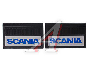 Брызговик SCANIA 40х60см с светоотражающей белой основой комплект АВТОТОРГ АТ-8026