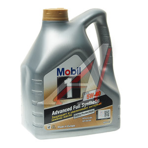 Масло моторное MOBIL 1 FS X1синт. 4л MOBIL MOBIL SAE5W40,
