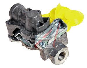 Головка соединительная тормозной системы прицепа 16мм (грузовой автомобиль) желтая комплект WABCO 952 200 022 0/222 0 (желтая), 400 604 330 0