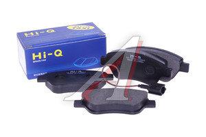 Колодки тормозные OPEL Corsa D (06-) FIAT Albea (03-),Grande Punto (05-) передние (4шт.) SANGSIN SP1201, GDB1700, 1605359