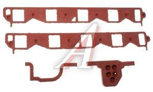Прокладка ГАЗ-53,66 коллектора впускного комплект (красная) 66-1008079/80/81(красная), 66-1008079/80/81(красная, 66-1008079-Б