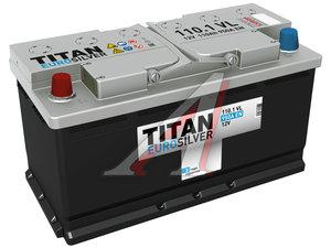 Аккумулятор ТИТАН Euro Silver 110А/ч 6СТ110