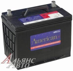Аккумулятор AMERICAN 90А/ч обратная полярность 6СТ90 34R770, 80431