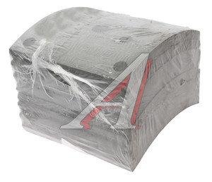 Накладка тормозной колодки МАЗ-5440 передней сверленая расточенная комплект 8шт. с заклепками 5440-3501105к, 5440-3501105 К-Т, 5440-3501105