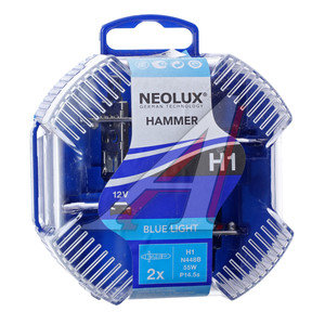 Лампа 12V H1 55W P14.5s 4000K бокс (2шт.) Blue Light NEOLUX N448B-2, NL-448B2, А12-55(Н1)