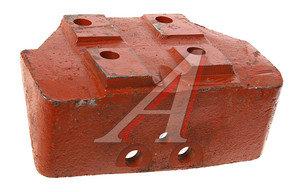 Опора двигателя МАЗ левая (3 отверстия) 6422-1001043