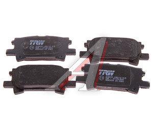 Колодки тормозные LEXUS RX300 (03-) задние (4шт.) TRW GDB3339, 04466-44010/04466-44010/04466-45010/04466-28050