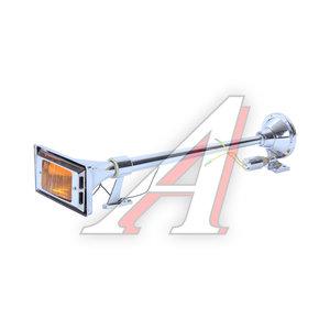 Сигнал электрический 24V d=640мм 1-о рожковый фонарь хром ТОП АВТО НА-640Н