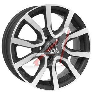 Диск колесный литой VW Polo Sedan R15 VW67 MBFP REPLICA 5х100 ЕТ40 D-57,1