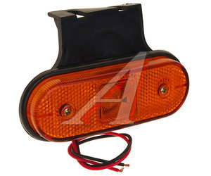 Фонарь габаритный LED с кронштейном желтый АВТОТОРГ АТ-1500/LED,