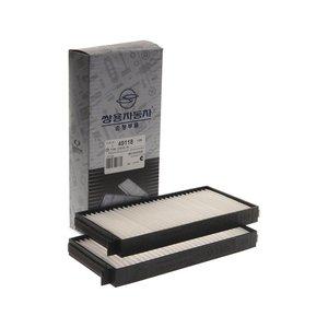 Фильтр воздушный салона SSANGYONG Stavic (13-) (климат-контроль) (2шт.) OE 6811021030