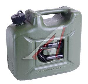 Канистра 10л пластик со сливным устройством зеленая ПРОФИ REXXON REX-10LP