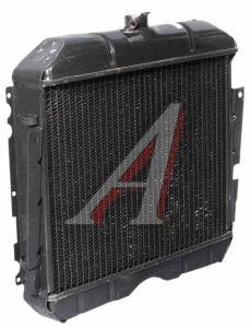 Радиатор ГАЗ-2410 медный 3-х рядный ЛРЗ 24-1301010, 24-1301010-21