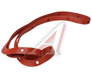 Прокладка КАМАЗ картера масляного красная с металлическими вставками 740.1009040
