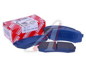 Колодки тормозные TOYOTA Land Cruiser (02-09) задние (4шт.) (ЗАМЕНА НА 04466-YZZC8) ОЕ 04466-60090, GDB1182