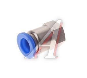 Соединитель трубки ПВХ,полиамид d=8мм (внутренняя резьба) М10х1прямой PCF M10x1 d=8, АТ-0721
