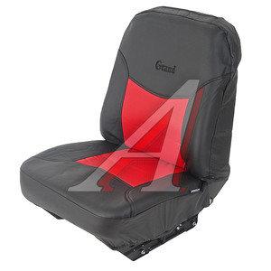 Авточехлы универсальные экокожа (AIRBAG 6 молний) черно-красные (13 предм.) Grand Full AUTOPROFI GND-1305GF BK/RD,