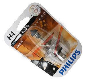Лампа H4 12V 60/55W P43t-38 +30% Premium блистер PHILIPS 12342PRB1, P-12342PRбл, 8711500490995