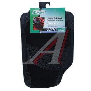 Коврик салона универсальный резина/ворс (4 предмета) GLIPART GT-34005