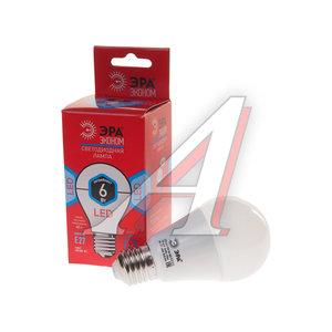 Лампа светодиодная E27 A60 6W (40W) холодный ЭРА ЭРА LED-SMD-A60-6W-840-E27 ECO, ER-LED276N, Б0017919
