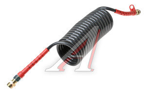 Шланг пневматический витой М22 L=5.5м (красный) AIR FLEX М22 L=5.5м (красный), HH-064-М22-5,5M-PA red