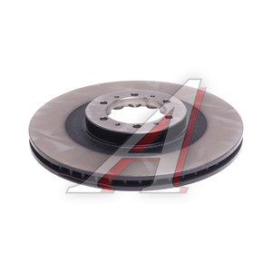 Диск тормозной MITSUBISHI Pajero (90-06) (2.5/3.0) передний (1шт.) TRW DF4485, MB699716