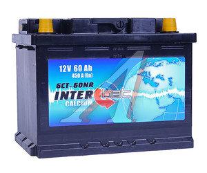 Аккумулятор INTERBAT 60А/ч обратная полярность 6СТ60