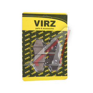 Колодки тормозные мото дискового тормоза (2шт.) NIRVANA,VOLCAN,Z50R NIRVANA, 4620767362300