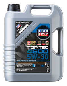 Масло моторное TOP TEC 4600 синт.5л LIQUI MOLY LM SAE5W30 8033/3756