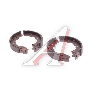 Колодки тормозные SUBARU Justy (06-) DAIHATSU Sirion (06-) задние барабанные (4шт.) TRW GS8750, 04495-B1170/04495-B1240