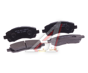 Колодки тормозные SUBARU Impreza (92-),Legacy (2.0/2.5) (92-00) передние (4шт.) HSB HP5045, GDB3205, 26296-AC021