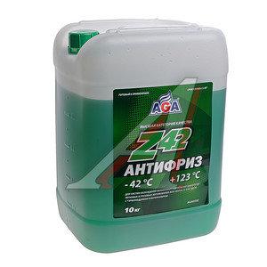 Антифриз зеленый -42С 10л Antifreeze Z42 AGA AGA050Z