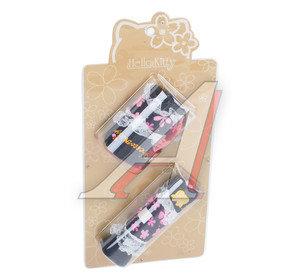Набор аксессуаров (накладки на рычаг стояночного тормоза и ручку КПП) HELLO KITTY HSK-009