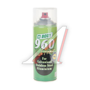 Грунт Body 960 1:1 кислотный 2К аэрозоль 0.4л BODY BODY