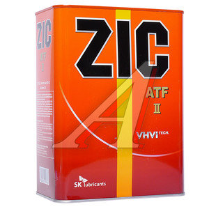 Масло трансмиссионное ATF DEXRON II 4л ZIC ZIC DEXRON II, 162623