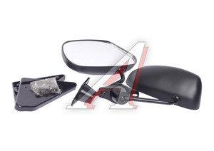 Зеркало боковое Формула-2 матовое черное комплект PRO SPORT RS-08327