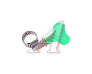Хомут ленточный 008-012мм с ключом TITAN Н08-12-9KL22