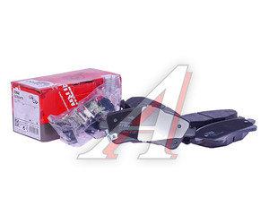 Колодки тормозные TOYOTA Avensis (09-),Verso (09-) передние (4шт.) TRW GDB3479, 04465-0F010/04465-02280