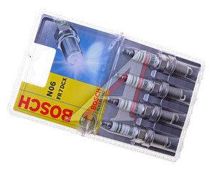 Свеча зажигания FR7DCX ВАЗ-2110-12 V16 комплект BOSCH 0242235990, 2112-3707010-01