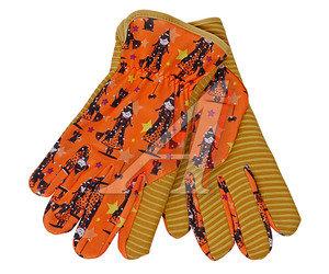 Перчатки микрофибра комбинированные MAGI р.7 ELEMENTA GARDEN SENSES AC-431-7