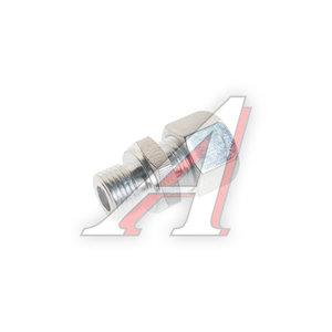 Штуцер соединительный прямой M16х12мм (фитинг резьбовой-гайка) сталь PE 07601530A, 8938009740