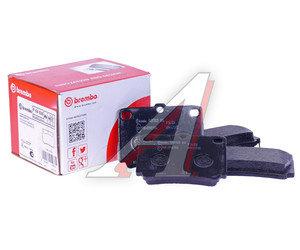 Колодки тормозные MITSUBISHI Pajero Sport,Montero Sport (98-09) (2.5 D/3.0) задние (4шт.) BREMBO P54026, GDB3239, MZ690027/MR389575/MR307415/MN102626