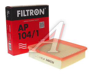 Фильтр воздушный HONDA Civic (95-) FILTRON AP104/1, LX1049, 17220-P2J-003/17220-P2M-Y00/17220-P2N-A01