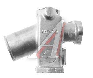 Патрубок КРАЗ радиатора распределит.(металл) АВТОКРАЗ 250-1303016-20