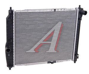 Радиатор CHEVROLET Aveo (05-) (1.4) МКПП DAEWOO 96816481, 61636