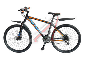 """Велосипед 26"""" 21-ск. дисковые тормоза (AL-рама) черный COLORFUL TOTEM T15B209 B, T15B209"""