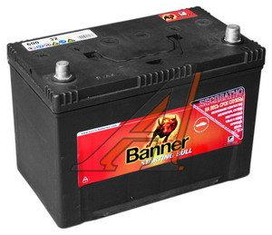 Аккумулятор BANNER Starting Bull 100А/ч обратная полярность 6СТ100 600 32, 600 32