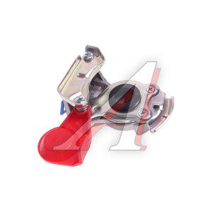 Головка соединительная тормозной системы прицепа 22мм (грузовой автомобиль) красная без клапана DIES 460136, 06530, 4522000110
