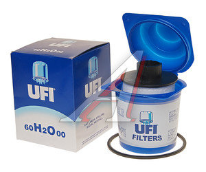 Фильтр топливный FIAT Ducato UFI 60H2O00, KX208D, 77362340
